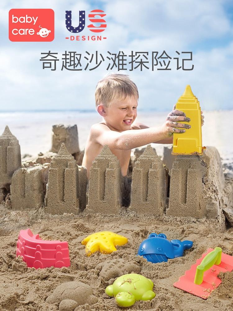 Summer Fun Random Kids Children Outdoor Sea Sand Beach Water Toys Set Classic Baby Water Toy Jeux De Plage Sand Toys Set JJ60BT