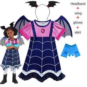 Лидер продаж; Платье для маленьких девочек; Vampirina Lady bug Vestidos; Рождественский костюм принцессы; Детская одежда; Детские платья для костюмирова...