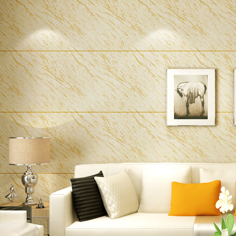 3D Faux Marble Wallpaper Adhesive Paper PVC Waterproof Brick Pattern Front Desk Hotel Bedroom Living Room Television Background