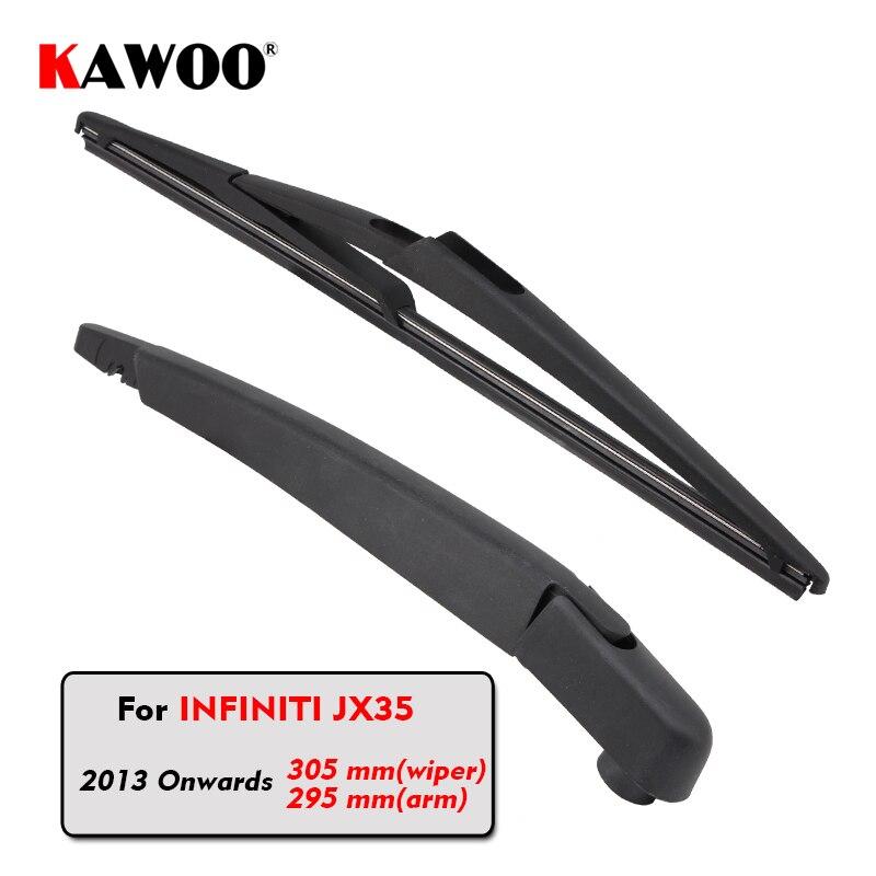 Стеклоочистители заднего стекла KAWOO для Infiniti JX35 Hatchback (2013-), 305 мм, автомобильные аксессуары, Стайлинг