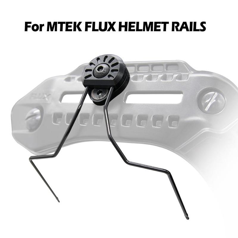 Rails-Adapter Helmet EARMOR Mtek/pulx Tactical for Headset Attachment-Kit