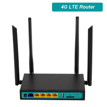 4G WiFi Router Support Sim Card 4x5dBi Detachable Antennas 2.4Ghz 300Mbps LTE Wireless Router WiFi Hotspot Modem outdoor