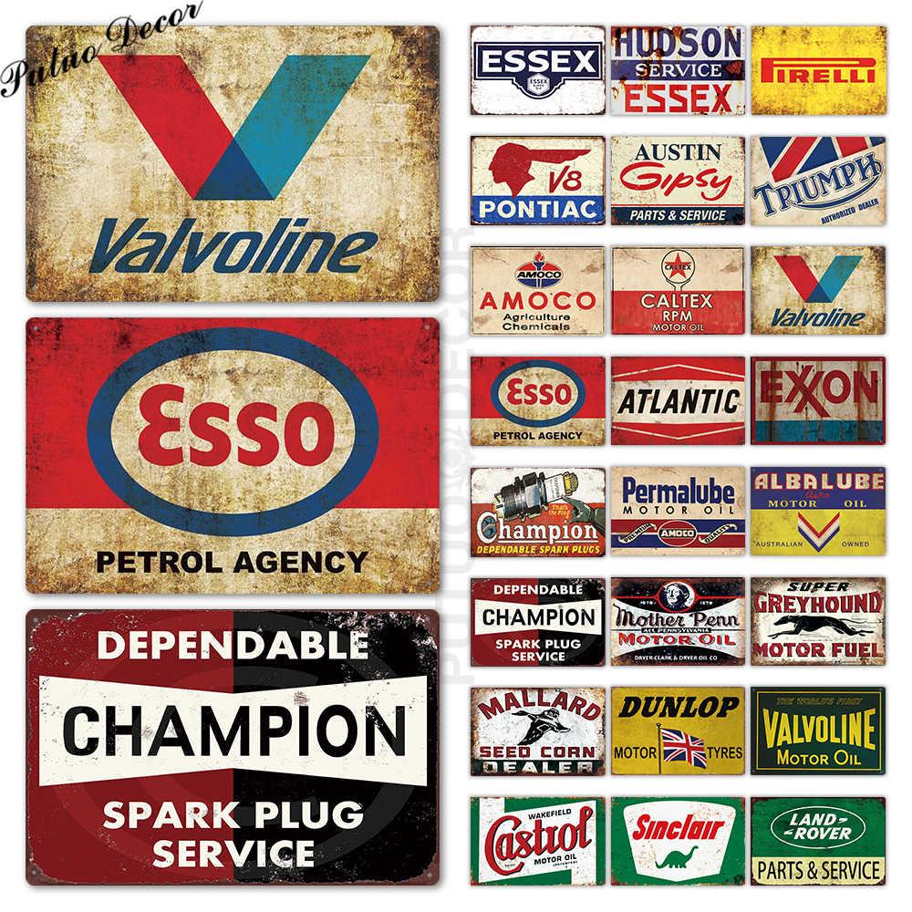 Metall Zeichen Plaque Metall Vintage Garage Zinn Zeichen Metall Platte Retro Garage Decor Bar Pub Mann Cave Decor