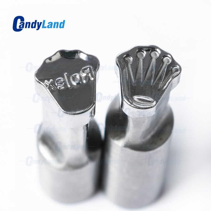CandyLand Ro ليكس شعار قرص يموت 3D مكبس حبوب العفن الحلوى اللكم يموت مخصص شعار الكالسيوم اللوحي لكمة يموت ل TDP 0 آلة