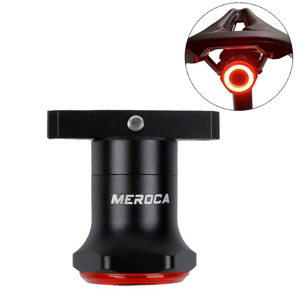Intelligent Induction Brake Taillights Bicycle Taillight Mountain Road Bike USB Charging Lights Night Riding Light