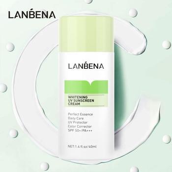 LANBENA 30ml Face Base Primer Women Makeup High-power Sunscreen Base Cream Whitening Refreshing Anti-aging Cream TSLM1 1
