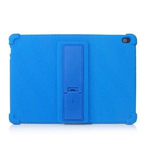 Image 2 - Funda de silicona para tableta Lenovo Smart Tab P10 TB X705F, antigolpes, con soporte, M10, TB X605F, 10,1