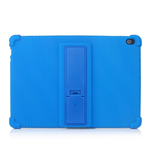 Image 2 - סיליקון מקרה עבור Lenovo חכם Tab P10 TB X705F ילדים עמיד הלם Tablet סטנד כיסוי עבור Lenovo Tab M10 TB X605F 10.1 פגוש מקרה