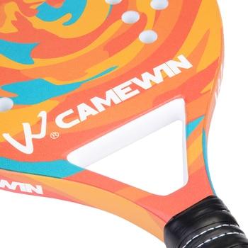 New Popular Beach Tennis Racket Carbon Fiber Men Women  Sport Soft Face Tennis Racquet with Paddle Bag Cover 4
