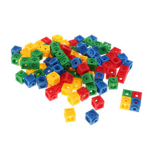 Linking Kids Early-Education Math-Manipulative/counting-Blocks 100pieces-Lot 2cm-X-2cm-X-2cm-Cubes