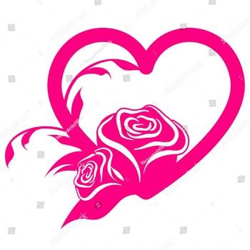 Love Heart Rose Shaker troqueles de corte de Metal para tarjetas para álbum de recortes DIY artesanía decorativa en relieve
