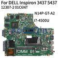 KoCoQin материнская плата для ноутбука DELL Inspiron 14R 3437 5437 I7-4500U материнская плата 12307-2 CN-01C6NT 01C6NT N14P-GE-A2