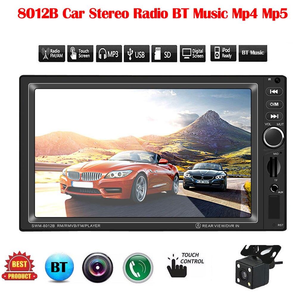 Audio 2-Din Autoradio Hd-Player FM Internet Mp5 1 Mp4 7IN AUX Video-Input Mobile Bt-Music