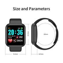 Смарт часы для мужчин и женщин водонепроницаемые с пульсометром