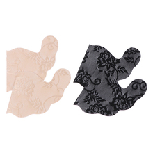 Invisible Bra Underwear Stick-Gel Lace Self-Adhesive Blackless Push-Up Large-Size Women