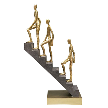 Abstract Passerby Figure Resin Thinker Miniature Upstairs Performance Art Ornament Novelty Craft Studio Decor Office Accessories 4