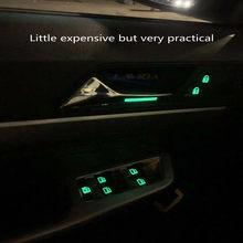 Car window control panel button luminous sticker for Hyundai ix25 ix30 ix40 i30 2020 2013-2019 2018 2013 2011 12 2008 2009
