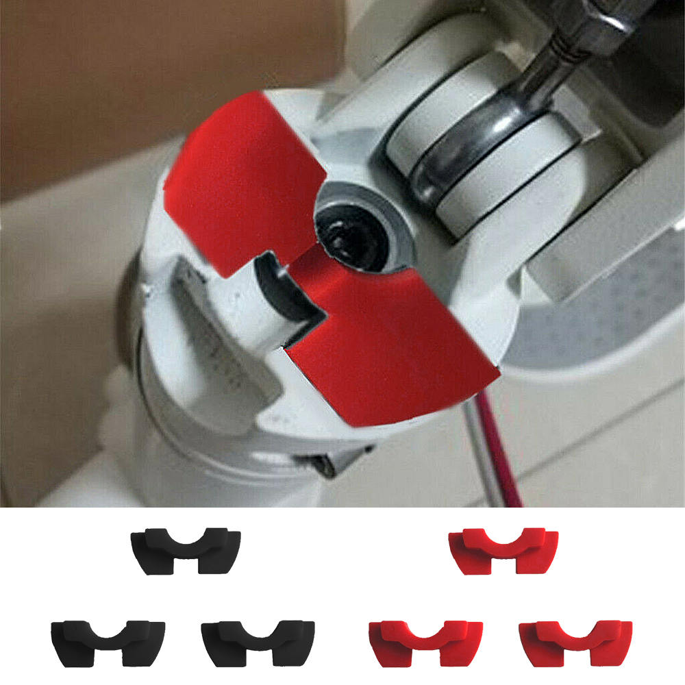 3pcs Electric Scooter Modified Accessorie Front Fork Vibration Shake Avoid Damping Rubber Pad Folding Cushion For XIAOMI MIJIA