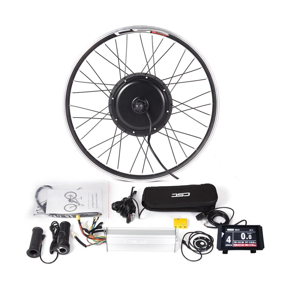 48V Conversion Kit Bike Electric 20-29 inch Cycling Motor SW900 Display