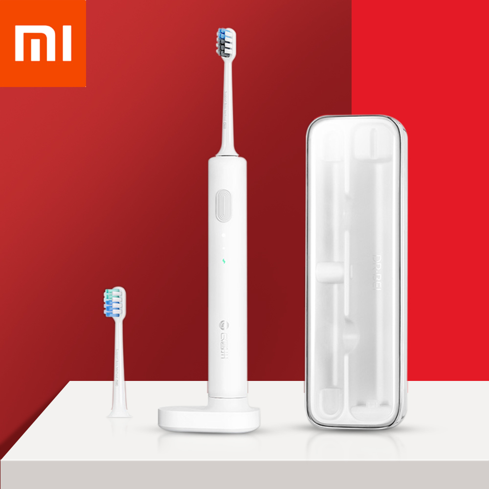 Xiaomi Mijia Soocas Sonic ElectricToothbrush Brush Ultrasonic Whitening Teeth Vibrator Wireless Oral Hygiene Tooth Brush Adult image