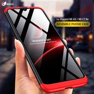 Чехол GKK для Xiaomi Mi A3 A2 lite, чехол с полной защитой для Xiaomi Redmi Mi CC9e Note 6 7 8t 9 9s 10 CC9 Pro, жесткие чехлы, Обложка