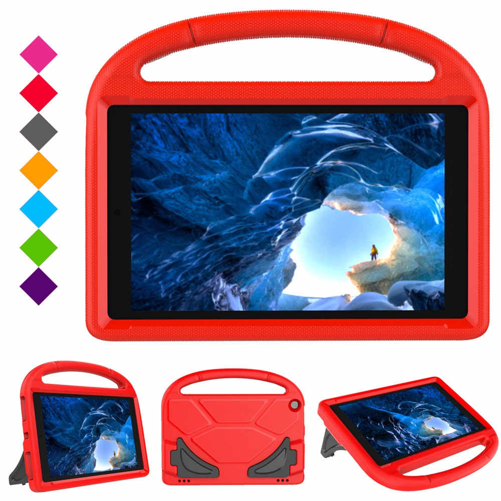 Para Amazon Kindle Fire HD 10 2015 2017 Tablet Case para niños 10 pulgadas seguro EVA mango soporte Protector 1031 # C