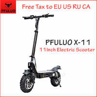 2020 New PFULUO X-11 Smart Electric Scooter 1000W Motor 11 inch 2 wheel Board hoverboard skateboard 50km/h Max Speed Off-road
