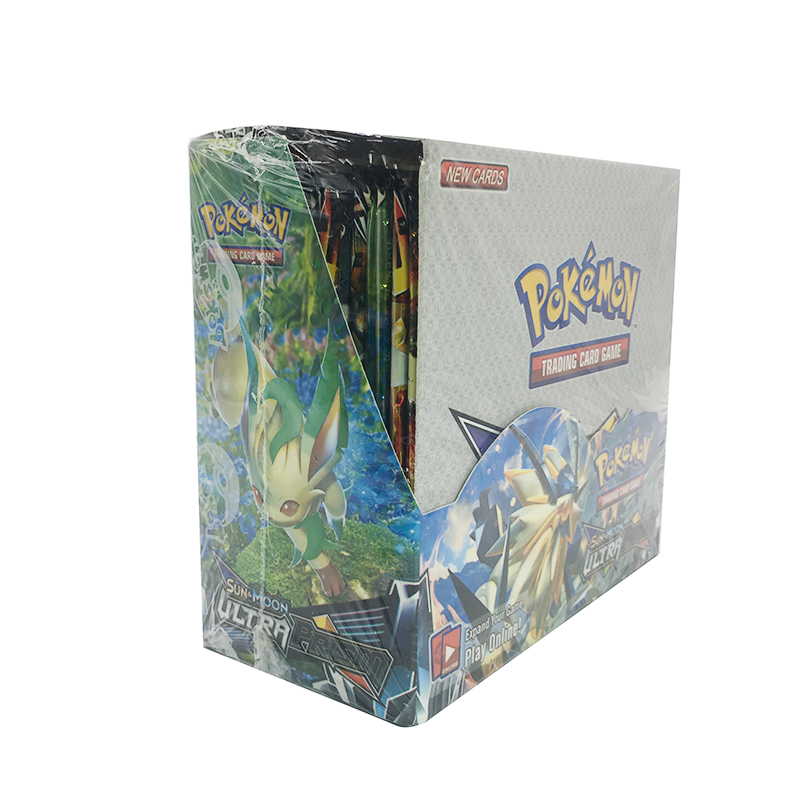 TAKARA TOMY Pokemon 324PCS GX EX MEGA Cover Card 3D Version SUN&MOON ULTRA PRISM Card Collectible Gift Kids Toy