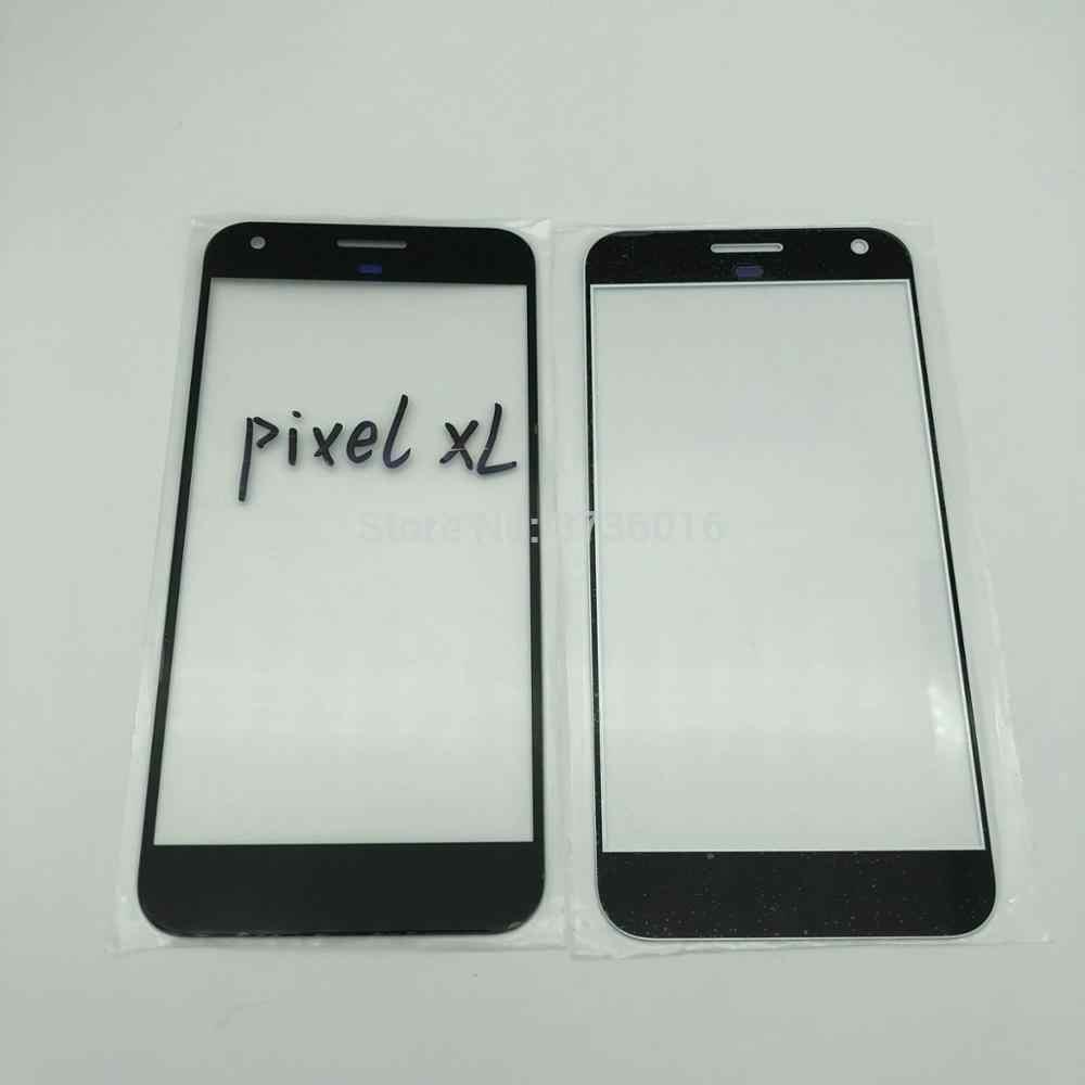 2 adet ön cam panel için HTC pixel XL çatlak cam değiştirme cep telefonu tamir göndermeden önce test ile HD ekran
