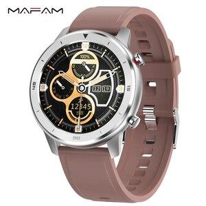 Смарт-часы MAFAM DT78 для мужчин и женщин, фитнес-трекер, носимые устройства, водонепроницаемый монитор сердечного ритма для Huawei xiaomi