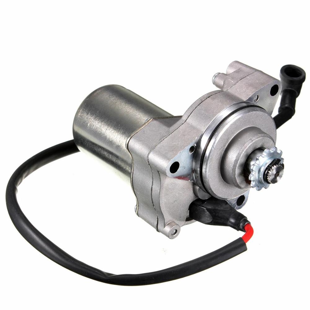 Electric Starter <font><b>Motor</b></font> For 50CC 70CC 90CC <font><b>110CC</b></font> ST01 <font><b>Motor</b></font> <font><b>ATV</b></font> Dirt Bike image