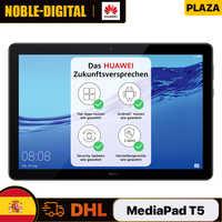 Versión Global HUAWEI MediaPad T5 4GB 64GB 10,1 pulgadas HD pantalla Dual Speaker Kirin 659 Android 8,0 Bluetooth 4,2 de 5100mAh