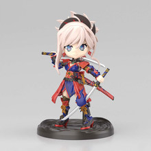Tronzo Originele Bandai Petitrits Fate Grand Order Fgo Sabel Miyamoto Musashi Leuke Monteren Action Figure Model Poppen Speelgoed Gift(China)