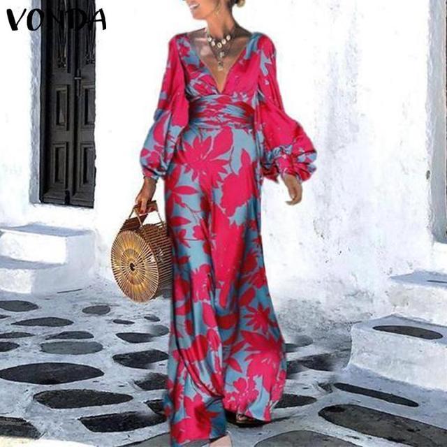 amazing maxi dress with long lantern sleeves, elegant yet comfortable  1