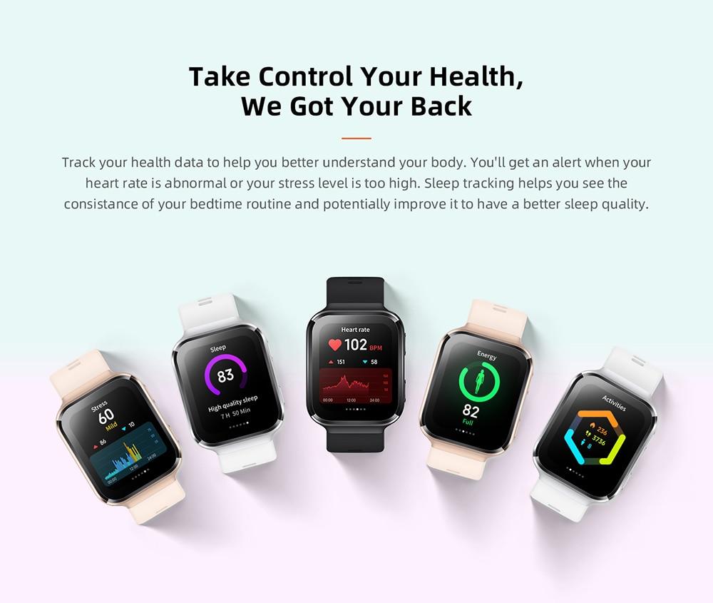 70mai Smart Watch Saphir Bluetooth GPS Sport Heart Rate Monitor 10
