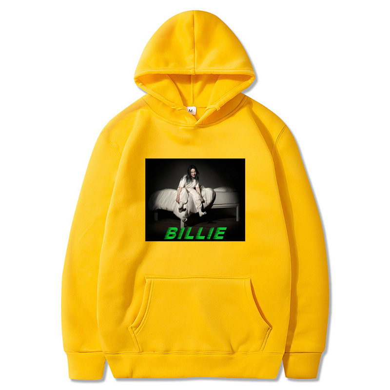 Billie Elish Mens Causal Hoodie 2020 New Fashion Printed Men And Women Hoodies Harajuku Style Hooded Streetwear Sweatshirt