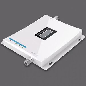 Image 3 - Mobile phone Tri Band Repeater GSM 2G 900 3G 2100 LTE 1800 Celular Signal Booster LCD Display Cell Phone Cellular Amplifier Set