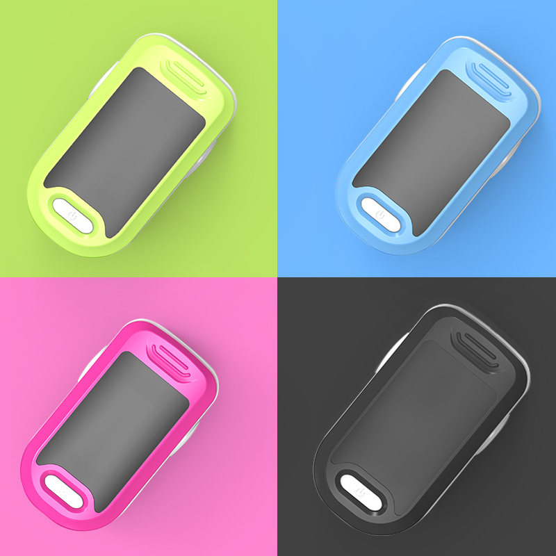 BOXYM Medical Fingertip Pulse Oximeter to Monitor Blood Oxygen Saturation and Heart Rate 2