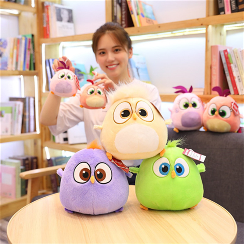 10-20cm Angry Cute Bird Plush Animal Plush Toy Doll Chicken Pillow High Quality Home Decoration Doll Children Birthday Christmas