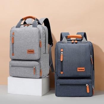 Men's Backpack Casual Business Notebook Backpack Light 15.6-inch Laptop Bag Anti Theft Backpack Travel Rucksack Schoolbag 2020