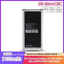 3100mAh EB-BJ510CBC EB-BJ510CBE de reemplazo de batería del teléfono para Samsung Galaxy J5 edición 2016 J510 J510FN J510F j5108 j5109