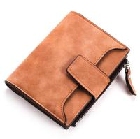 2019 New BB183 PU Leather Vintage Small Women Wallets Female Womens Wallet Zipper Design With Coin Purse Pockets Mini Wallet