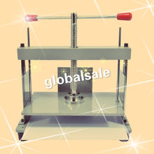 FREE SHIPPING A4 size Manual flat paper press machine for photo books, invoices, checks, booklets, Nipping machine(China)