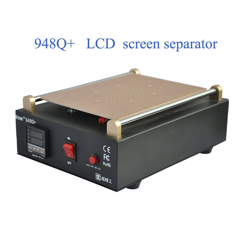 Inches Separator Pump Built Vacuum Max Refurbished Touch Mobile Uyue Machine  948Q Phone Glass In Screen Screen 11 LCD