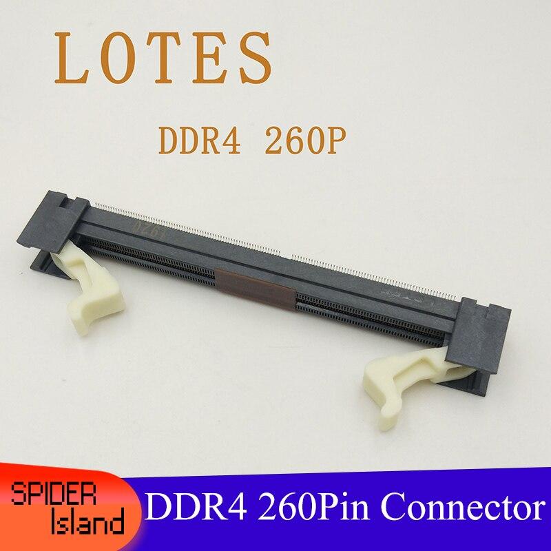 DDR4 260Pin 260P SMT Memory Slot 1.2V High Quality ADDR0075 260P DDR 4 Connector Socket