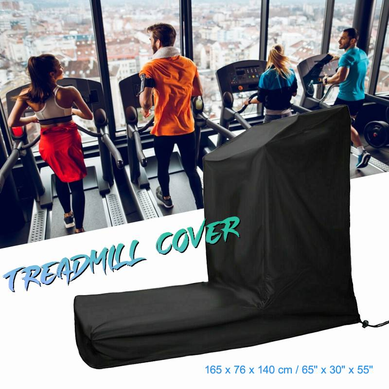 165x76x140 Cm Waterproof Treadmill Cover Running Jogging Machine Dustproof Shelter Oxford Cloth All-Purpose Dust Covers