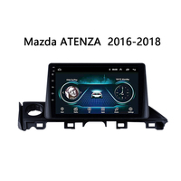 Android 8.1 9 Car Radio Multimedia Player for 2017 Mazda ATENZA 2.5D Screen with Bluetooth wifi USB Mirror Link steering wheel