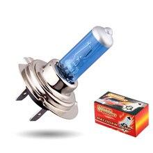 10pcs H7 100W 12V Super Bright White Fog Lights Halogen Bulb High Power Car Headlights Lamp Car Light Source parking