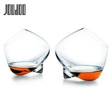 JOUDOO широкий живот виски коктейль питьевой вина чашка стакан конус дно бар хрустальные очки ВАСО Gafas Caneca Vidro 35