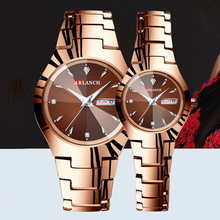 ARLANCH Luxury Lover Watches Waterproof and Scratch Resistant Quartz Calendar Dr
